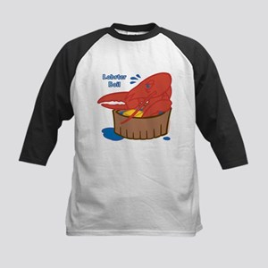 Lobster Boil Kids Baseball Jersey