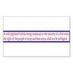 Infringement-2b Rectangle Sticker 50 pk)