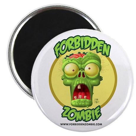 Forbidden Zombie Magnet