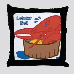Lobster Boil Throw Pillow