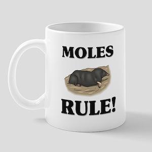 Moles Rule! Mug