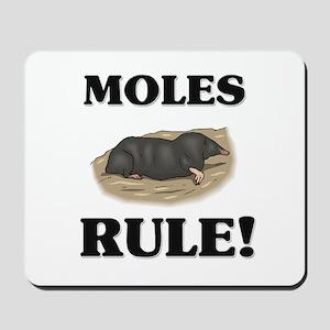 Moles Rule! Mousepad