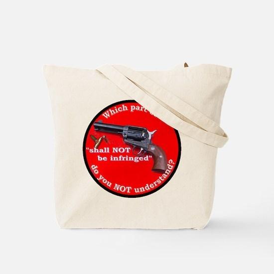 Infringement-4b Tote Bag