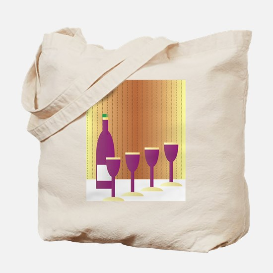 Four Cups Tote Bag