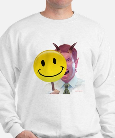 Behind the Smiley Face - Sweatshirt
