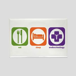 Eat Sleep Endocrinology Rectangle Magnet