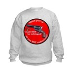 Infringement-4b Kids Sweatshirt