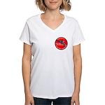 Infringement-2b Women's V-Neck T-Shirt