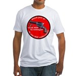Infringement-2b Fitted T-Shirt