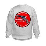 Infringement-2b Kids Sweatshirt