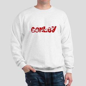 Conley Surname Heart Design Sweatshirt