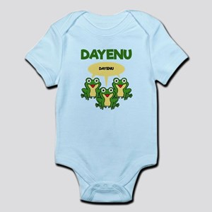 Three Frogs Dayenu - Funny Pesach Passo Body Suit