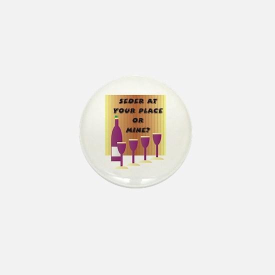Seder Cups Mini Button