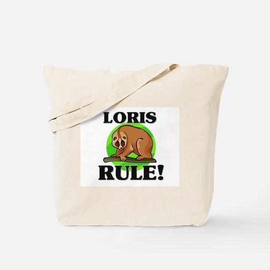 Loris Rule! Tote Bag