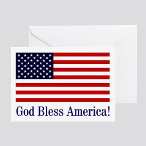 God bless america greeting cards cafepress god bless america greeting card m4hsunfo