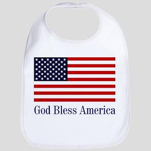 God Bless America Bib