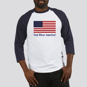 God Bless America Baseball Jersey