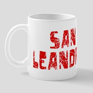 San Leandro Faded (Red) Mug