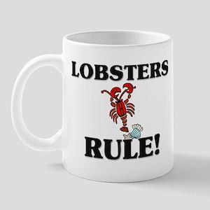 Lobsters Rule! Mug