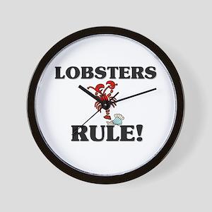 Lobsters Rule! Wall Clock