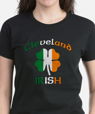 Cleveland Irish Women's Dark T-Shirt