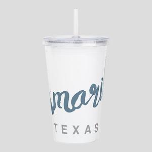 Amarillo Texas Acrylic Double-wall Tumbler