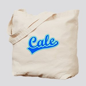 Retro Cale (Blue) Tote Bag