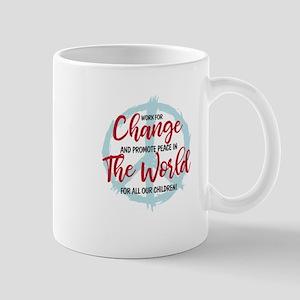 Change the World / Promote Peace Mugs