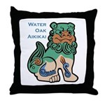 WOA Throw Pillow