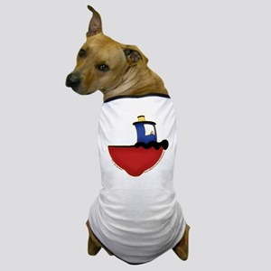 Cute Tugboat Picture 2 Dog T-Shirt