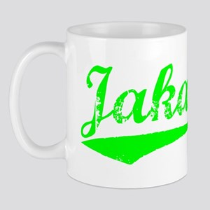 Vintage Jakarta (Green) Mug