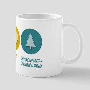 Peace Love Environmental Engineering Mug