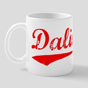 Vintage Dalian (Red) Mug