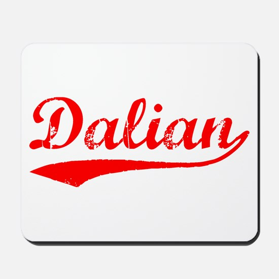 Vintage Dalian (Red) Mousepad