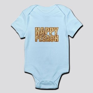Happy Pesach - Matzah - Funny Jewish Ho Body Suit