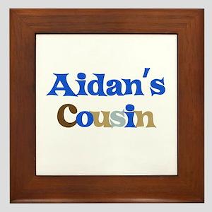 Aidan's Cousin Framed Tile
