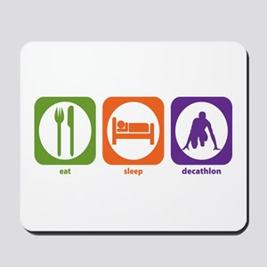 Eat Sleep Decathlon Mousepad
