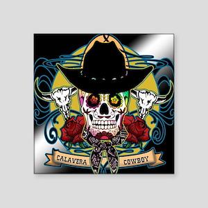 CALAVERA COWBOY Sticker