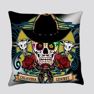 CALAVERA COWBOY Everyday Pillow