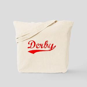 Vintage Derby (Red) Tote Bag