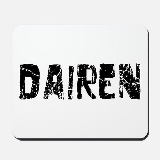 Dairen Faded (Black) Mousepad
