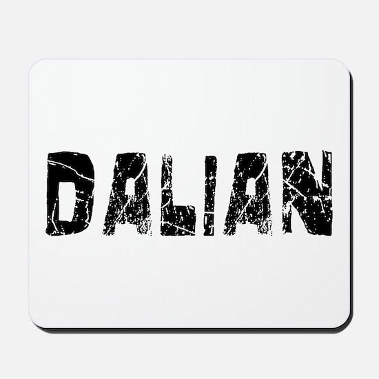 Dalian Faded (Black) Mousepad