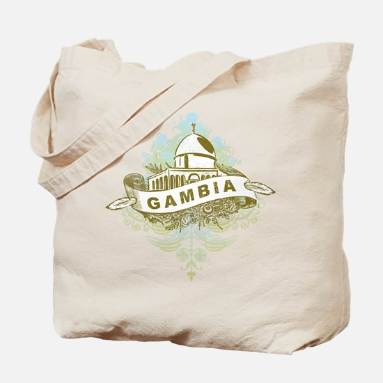 Mosque Gambia Tote Bag