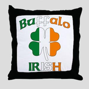 Buffalo Irish Throw Pillow