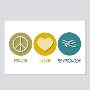 Peace Love Egyptology Postcards (Package of 8)