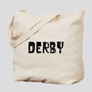 Derby Faded (Black) Tote Bag