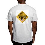 Stunt Dan Ash Grey T-Shirt