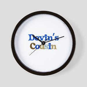 Devin's Cousin Wall Clock