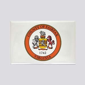 FAIRFAX-COUNTY-SEAL Rectangle Magnet