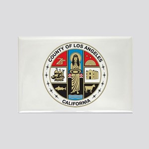 LOS-ANGELES-COUNTY-SEAL Rectangle Magnet